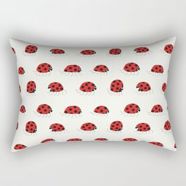 Ladybug rush - Pattern Rectangular Pillow