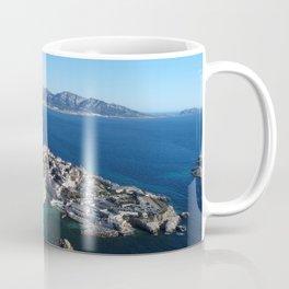 Marseille, France, port in Europe, aerial Coffee Mug