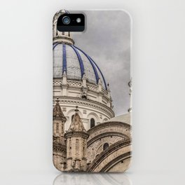 Immaculate Conception Cathedral Cuenca, Ecuador iPhone Case