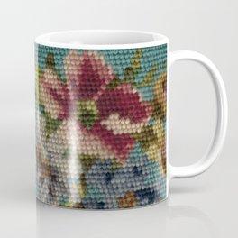 floral needlepoint Coffee Mug