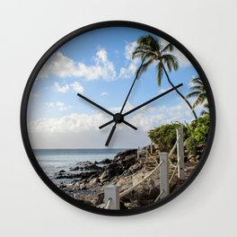 Napili Bay  Wall Clock