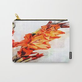 gladioli Artsy Carry-All Pouch