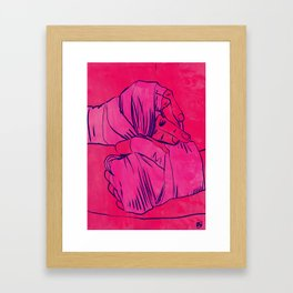 Boxing Club 4 Framed Art Print