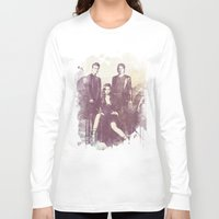 vampire diaries Long Sleeve T-shirts featuring The Vampire Diaries TV Series by Nechifor Ionut