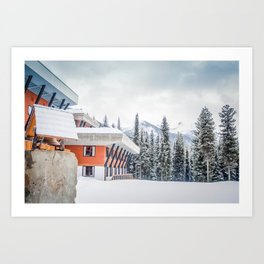 CMH Bugaboos Lodge Art Print