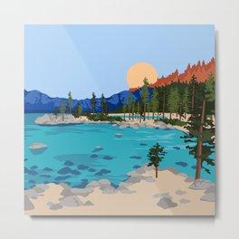 Sand Harbor Lake Tahoe Metal Print