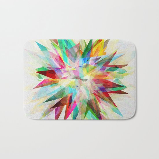 Colorful 6 Bath Mat