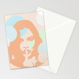 No words Stationery Cards