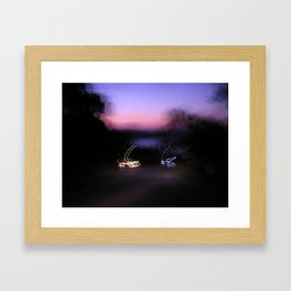 Signature Lights Framed Art Print