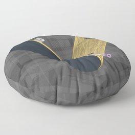 V for skateboard Floor Pillow