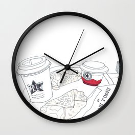 Pret A Manger in London Wall Clock