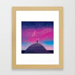 Maestro of Stars Framed Art Print