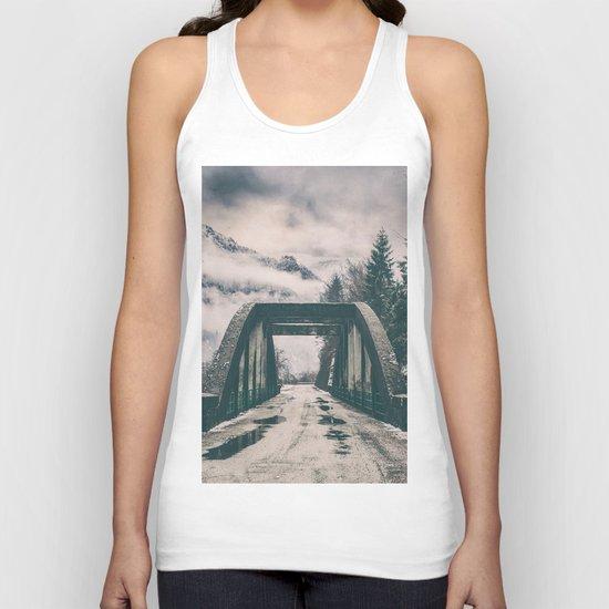 Silence bridge Unisex Tank Top