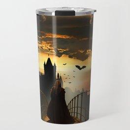 The monk Travel Mug