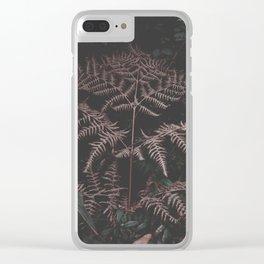 Someone. Fern. Clear iPhone Case