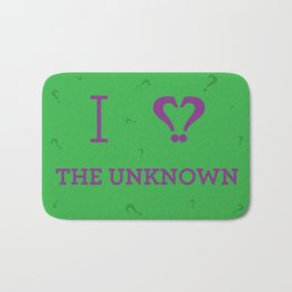 I heart The Unknown Bath Mat