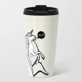 I hate Unicorn Travel Mug