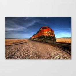 BNSF Freight  Canvas Print