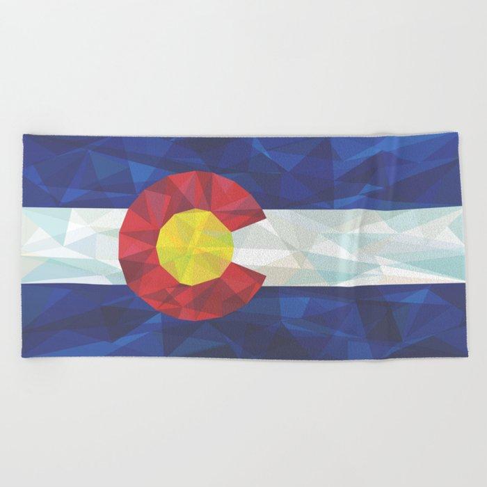 Colorado Beach Towel