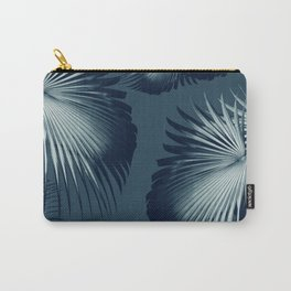 Fan Palm Leaves Paradise #12 #tropical #decor #art #society6 Carry-All Pouch