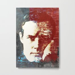 Idols - Marlon Brando Metal Print