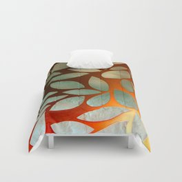 Leaf Pattern 02A Comforters