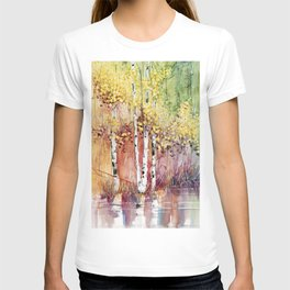 4 Season watercolor collection - summer T-shirt