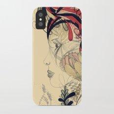 flame flower Slim Case iPhone X
