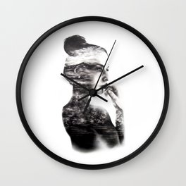 Vagabond // Fashion Illustration Wall Clock