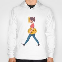 emoji Hoodies featuring Emoji Expression by DanniSketches