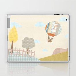 baloon collage Laptop & iPad Skin