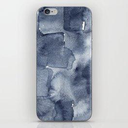 Indigo Watercolor iPhone Skin