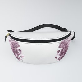 Indian face  Fanny Pack
