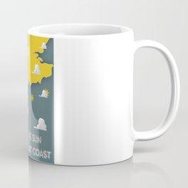 Meet the Sun on the South East coast. Coffee Mug