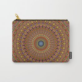 Magic Ornate Garden Mandala Carry-All Pouch