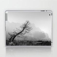 Windy tree. BW Laptop & iPad Skin