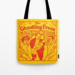 The Ghastling Freak Shows - Yellow Tote Bag