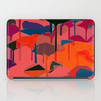 flamingos iPad Cases featuring flamingos  by Emma Stein