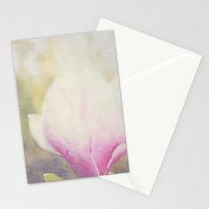 Magnolia × soulangeana -- Tulip Tree Flower Botanical Painterly Stationery Cards