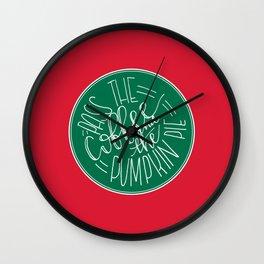 Pass the Coffee Wall Clock