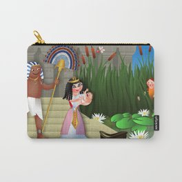 Baby Moses & the Egyptian Princess Carry-All Pouch