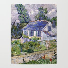Vincent Van Gogh Houses At Auvers Poster