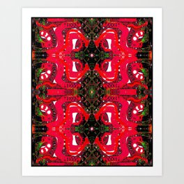 Pattern45555v Art Print