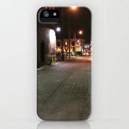 Downtown Alley iPhone Case