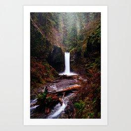 Wiesendanger Falls, Oregon Art Print