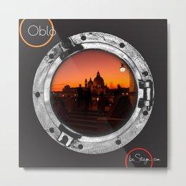 Oblo by be Strega | Venice Metal Print