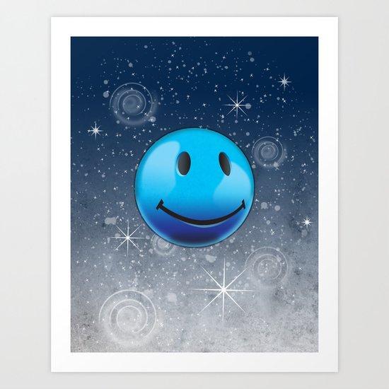 Sparkle Night Art Print