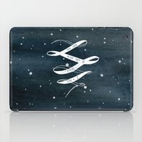 starry night iPad Cases featuring STARRY NIGHT by MEERA LEE PATEL