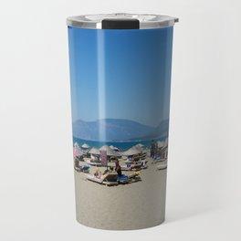 Iztuzu Beach Dalyan Turkey Travel Mug