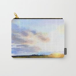 Dawn on the Road Carry-All Pouch